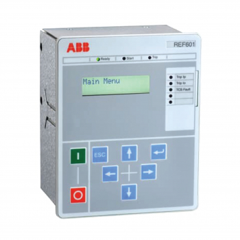 REF601BE - Rơ le bảo vệ kỹ thuật số ABB (In=5A)