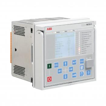 RET615HBTEBCADABC1ANN11G - Rơ le bảo vệ kỹ thuật số ABB RET615, cấp nguồn phụ 48-250VDC; 100-220VAC/DC