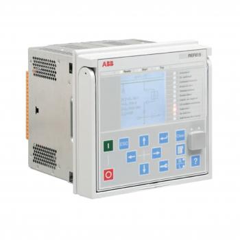 REF615HBFHAEAGNEA1BBN11G - Rơ le kỹ thuật số ABB bảo vệ xuất tuyến REF615, cấp nguồn phụ 110-220VAC/DC