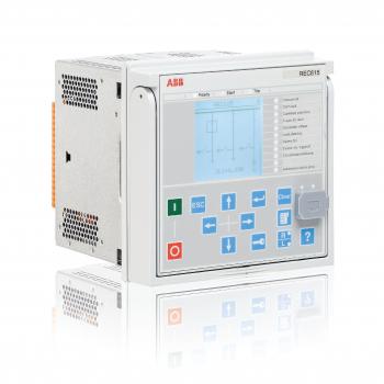 Rơ le kỹ thuật số ABB bảo vệ xuất tuyến REC615, cấp nguồn phụ 24-60VDC/DC