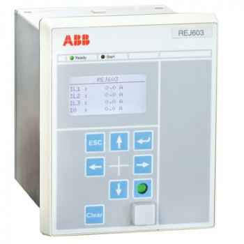 Rơ le bảo vệ kỹ thuật số ABB REJ603 24-240VAC/DC đầu ra 1A