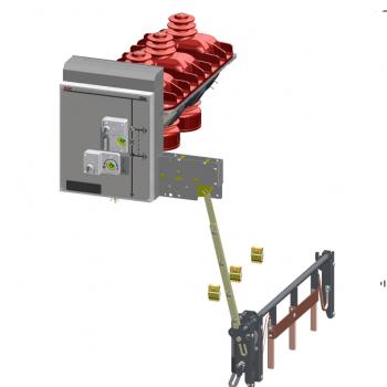 Cầu dao phụ tải ABB 3 vị trí kết hợp tiếp địa 24kV 630A, 20ka/3s, SF6, lò xo đơn GSec/IB