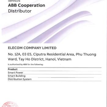 Máy cắt không khí ACB ABB E2.2H 4 Pha 2000A 100kA 1SDA071681R1
