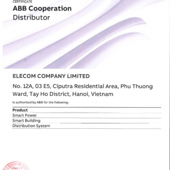 Tủ trung thế RMU ABB SafePlus CCF=FF 40.5kV 630A 21kA/3s